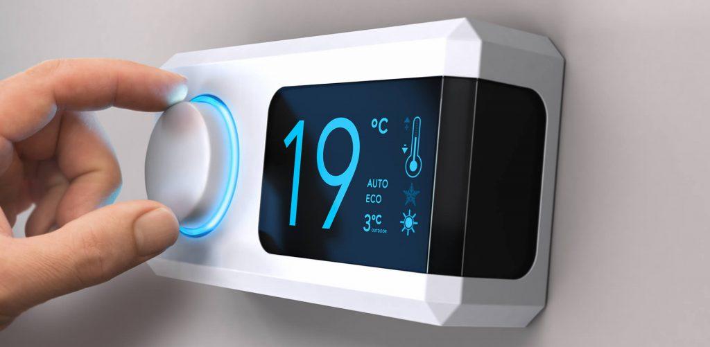 Hintergrundbild Thermostat